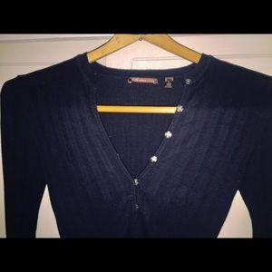 525 AMERICAN 100% Cotton Soft  Long Sleeve Henley